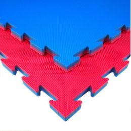 Tappeto Per Judo Rosso E Blu