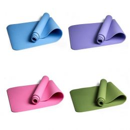Tappetino Yoga,PIlates, Stretching arrotolabile monocolore
