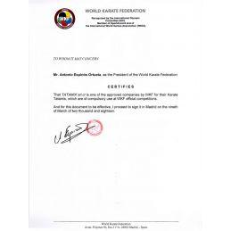 Tatami Karate 2cm Certificato WKF