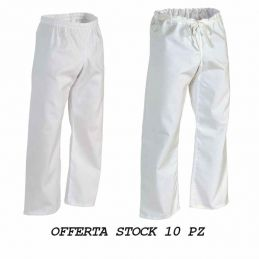 Pantaloni in Stock Bianchi