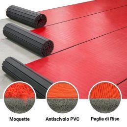 Tatami Arrotolabile con Velcro